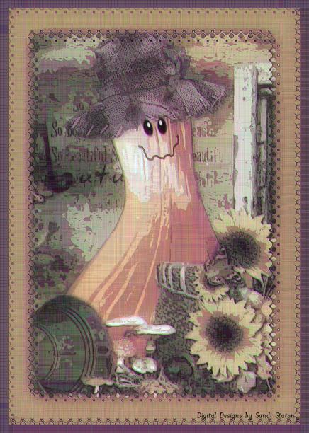 Card Silly Pumpkin