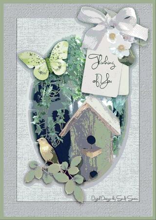 Thinking of You Birdhouse