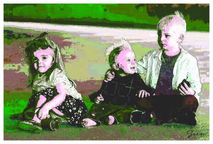 Gideon, Abigail, and Phinehas