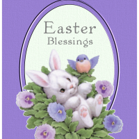 Easter Blessings: Digital Art
