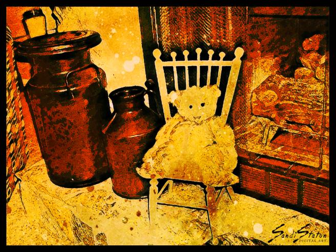 My Dad's Teddy Bear